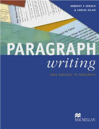 Dare to write 1: from sentence to paragraph